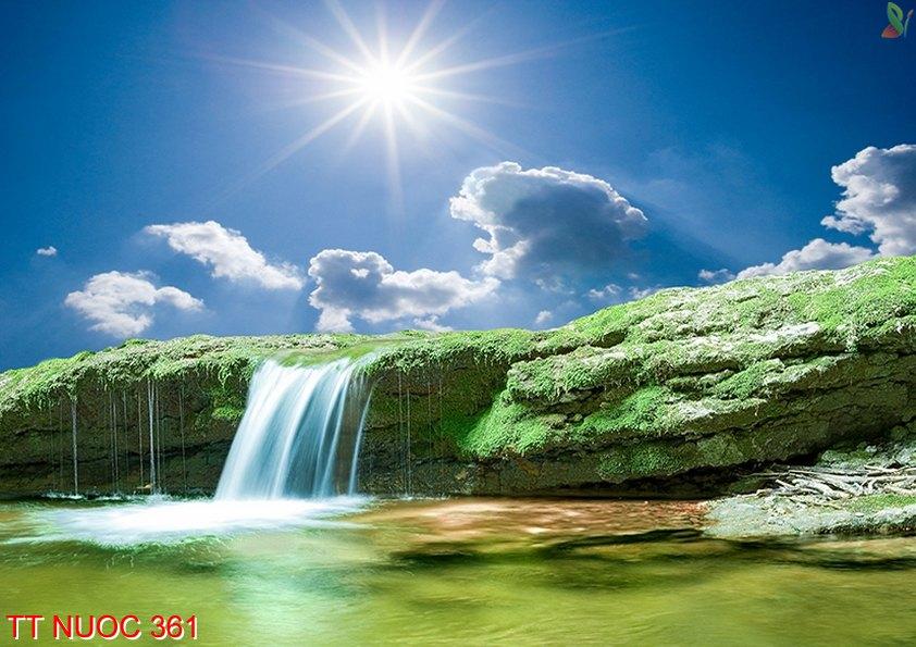 Tranh thác nước 361