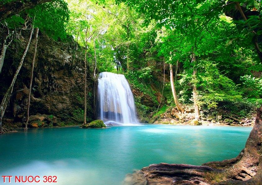 Tranh thác nước 362