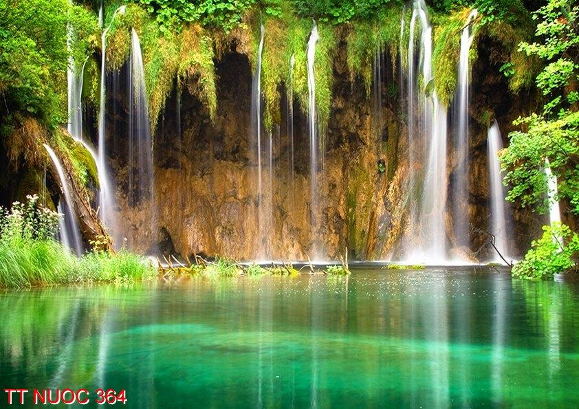 Tranh thác nước 364