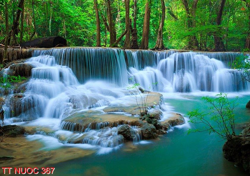 Tranh thác nước 367