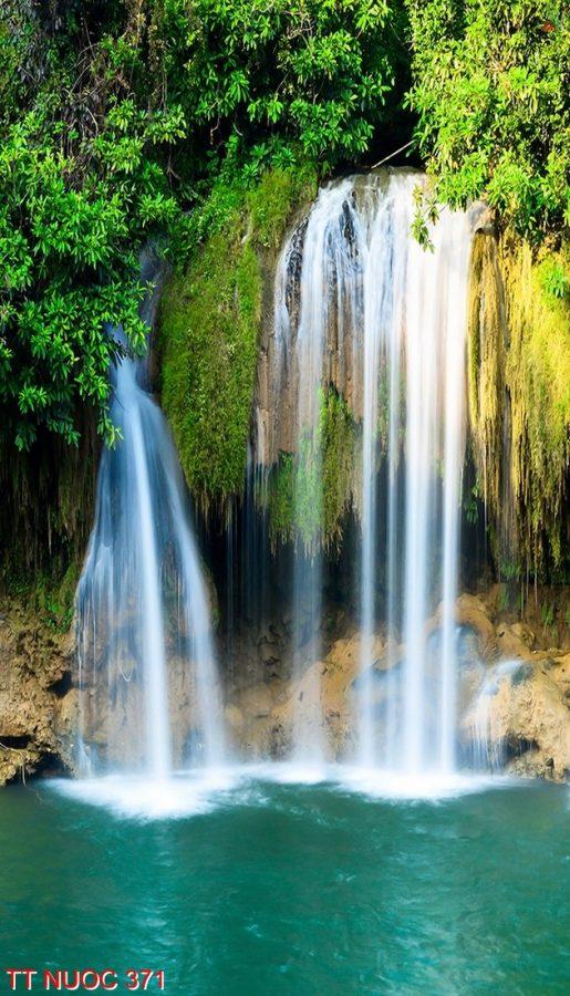 Tranh thác nước 371