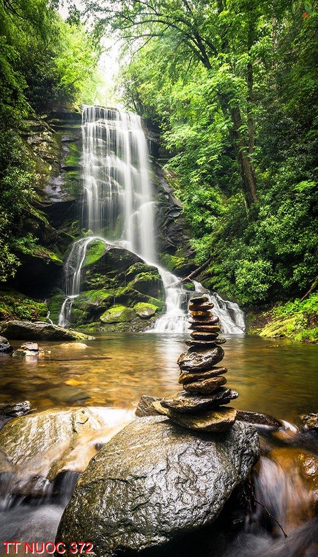 Tranh thác nước 372