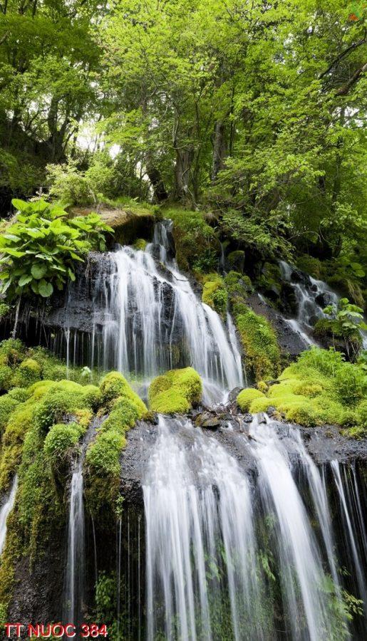 Tranh thác nước 384