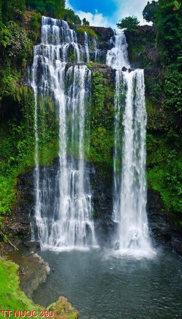 Tranh thác nước 390
