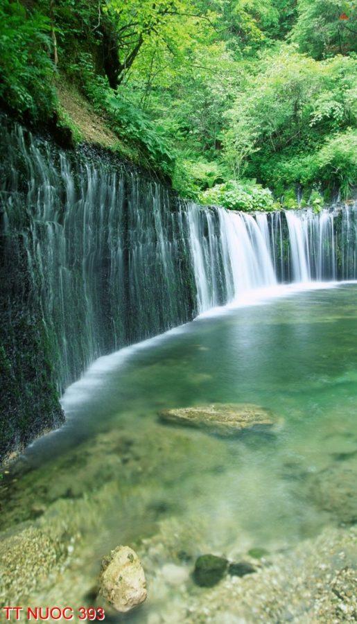 Tranh thác nước 393