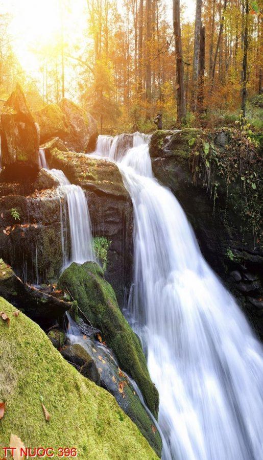 Tranh thác nước 396