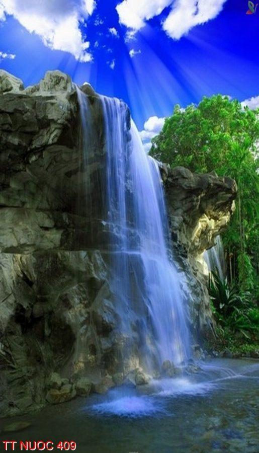Tranh thác nước 409