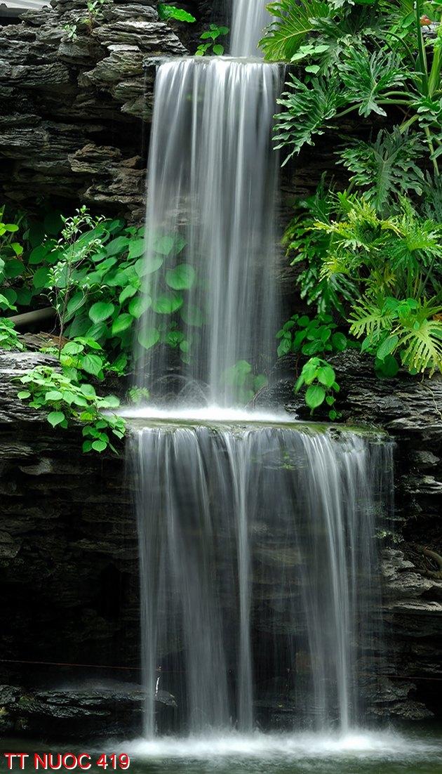 Tranh thác nước 419