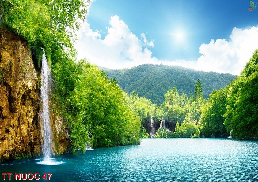 Tranh thác nước 47