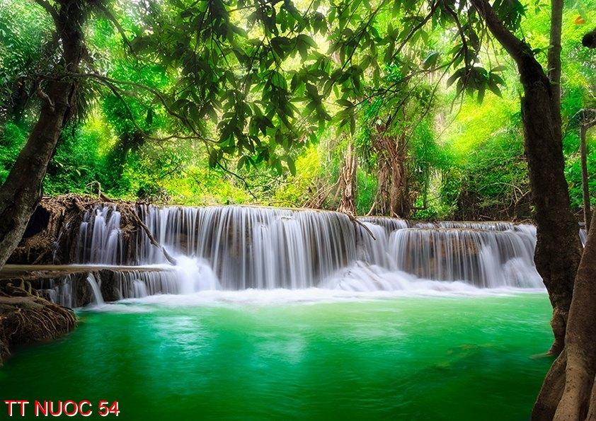 Tranh thác nước 54