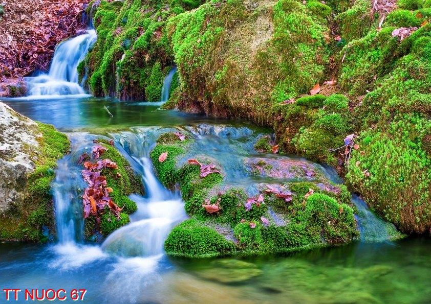 Tranh thác nước 67