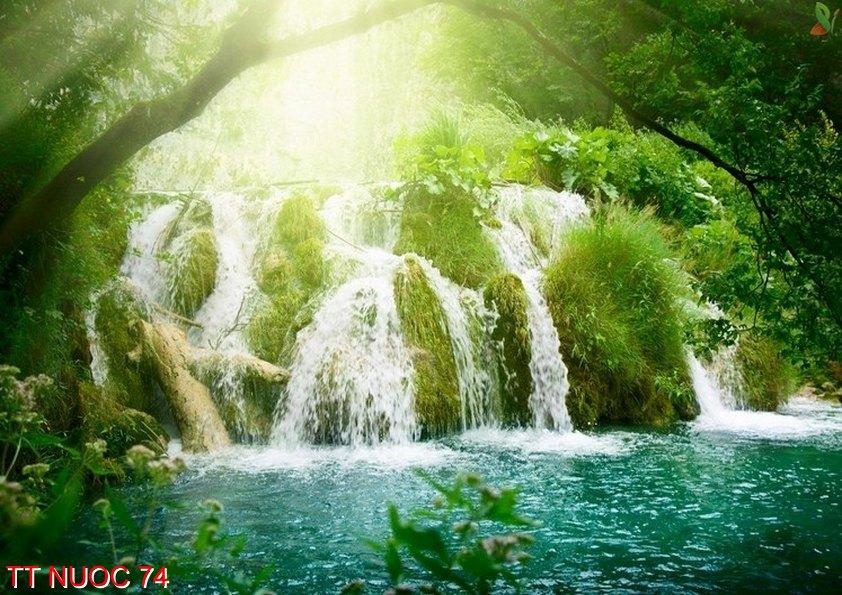 Tranh thác nước 74