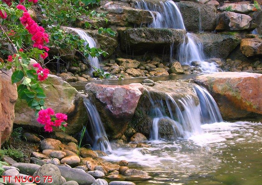 Tranh thác nước 75