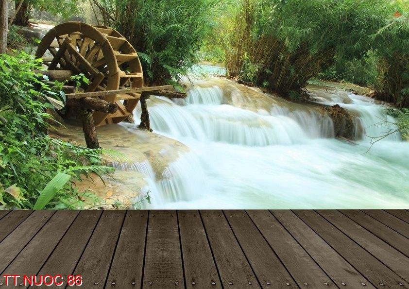 Tranh thác nước 86