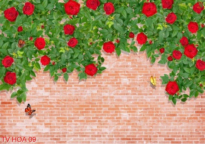 Tranh về hoa 09