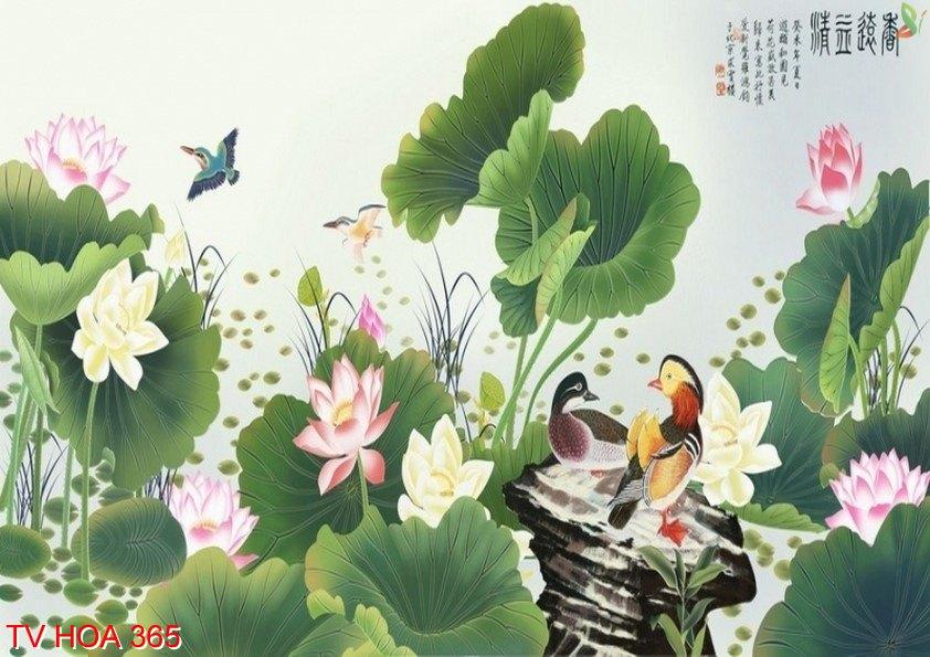 Tranh về hoa 365