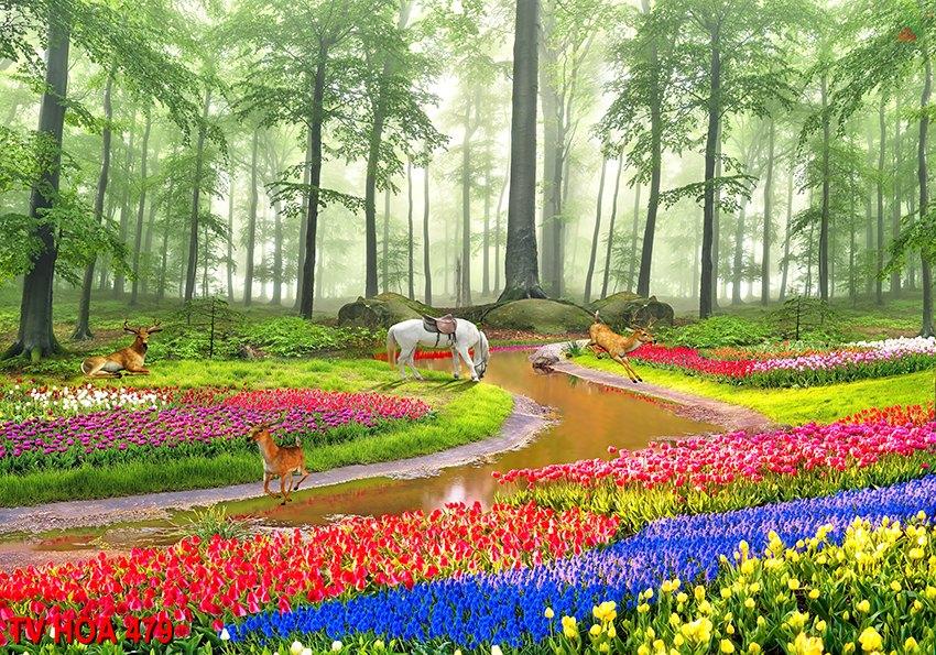 Tranh về hoa 479
