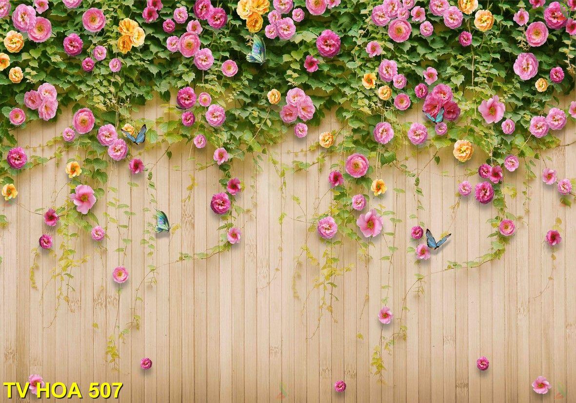 Tranh về hoa TV Hoa 507