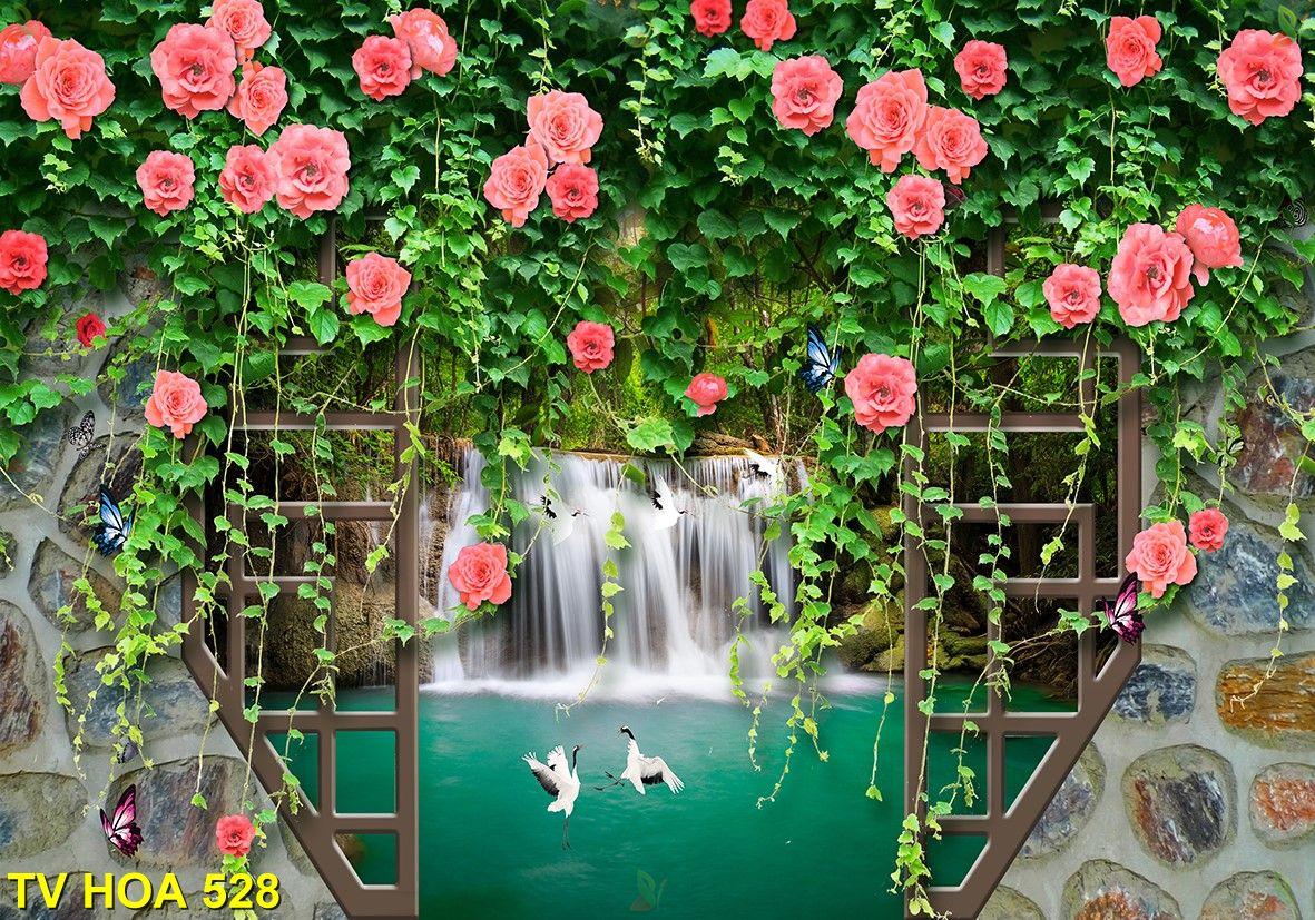 Tranh về hoa TV Hoa 528
