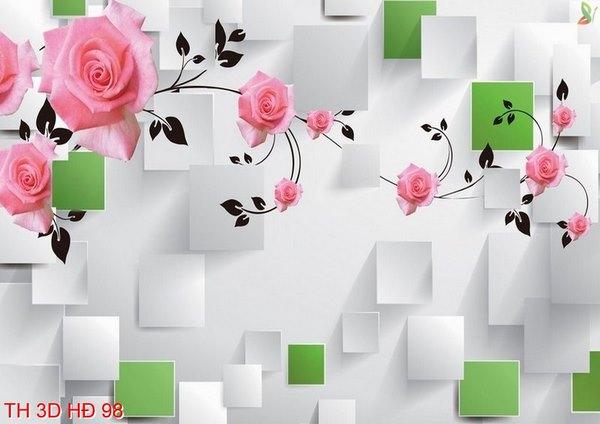 tranh dán tường phòng ngủ 1